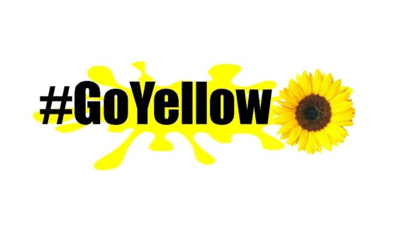 d38816e9a7be Go Yellow in June and use  GoYellow on social media