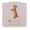 MR007 'That Friday Feeling' Dog Compact Mirror